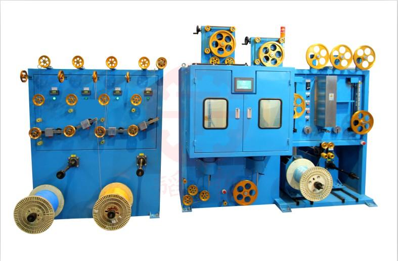 数控式双层单层立式包带机